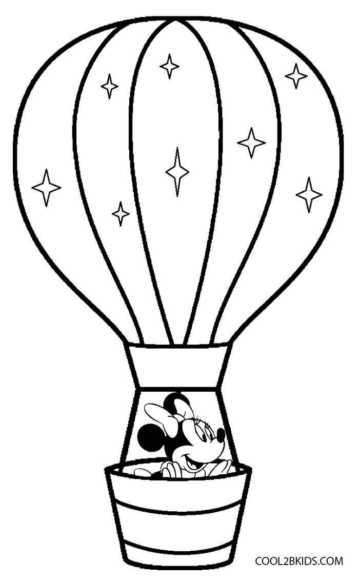 Clip Art Hot Air Balloon Color Page printable hot air balloon coloring pages for kids cool2bkids printable