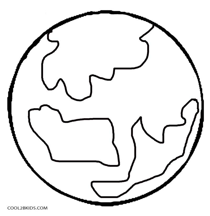 planet coloring pages with the 9 planets - the nine planets coloring pages