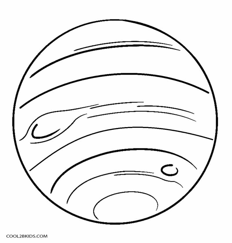 planet coloring pages for kids - Planets Coloring Pages Printables