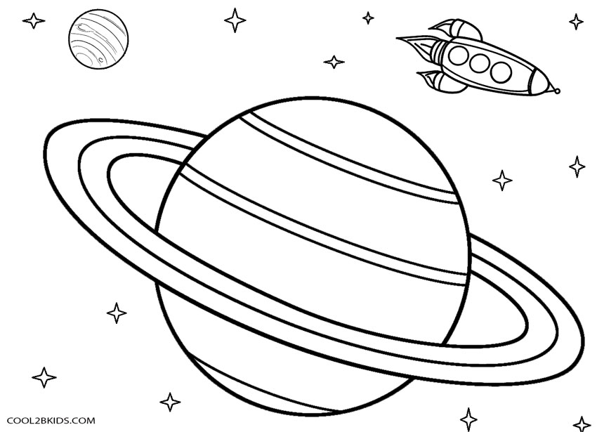 planet coloring pages - Planets Coloring Pages Printables