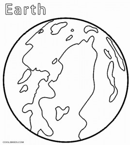 Printable Planet Coloring Pages For Kids | Cool2bKids