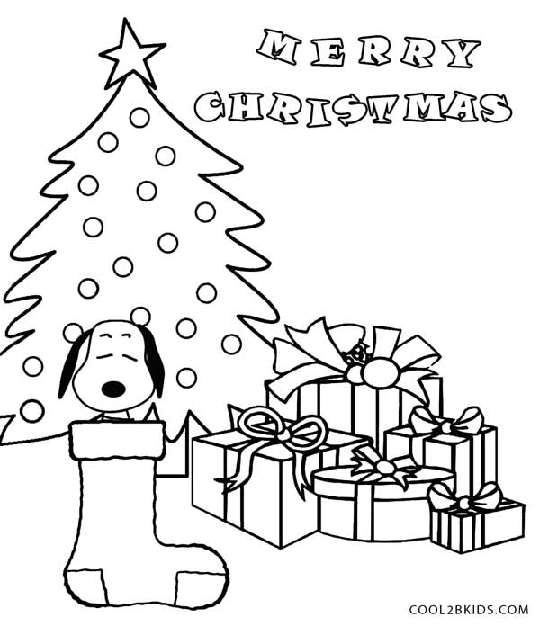 charlie brown christmas coloring page - printable snoopy coloring pages for kids cool2bkids