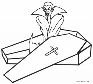 Vampire Coloring Pages Printable