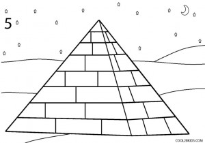 How to Draw a Pyramid Step 5
