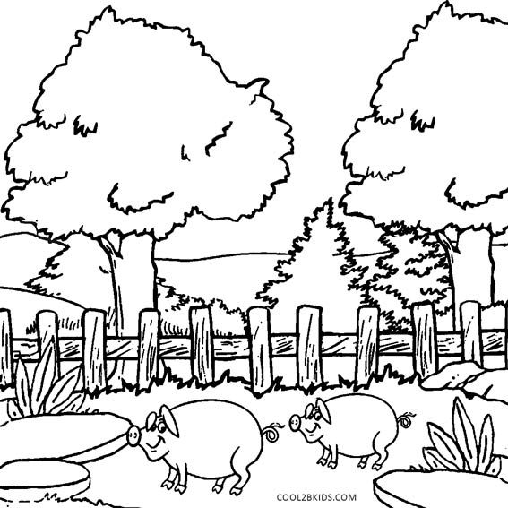 pictura coloring nature pages - photo#16