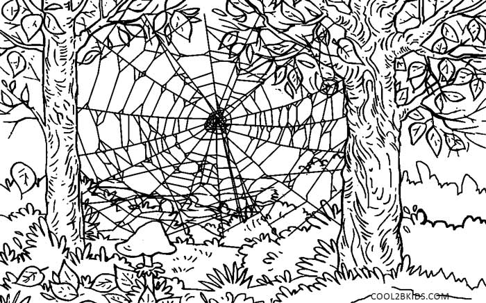 Nature Coloring Pages For Kids Printable