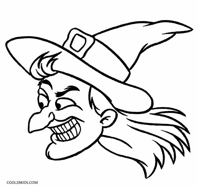 Printable Witch Coloring Pages For Kids Cool2bkids Witches Coloring Pages