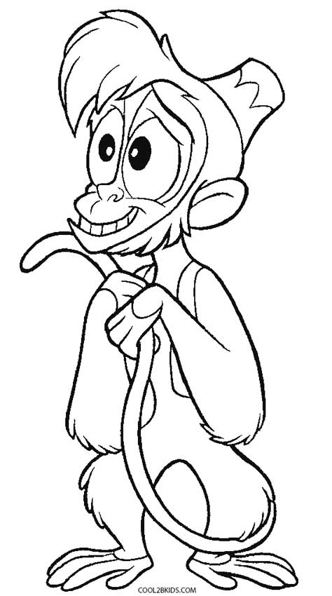 aladdin pictures coloring pages - photo#3