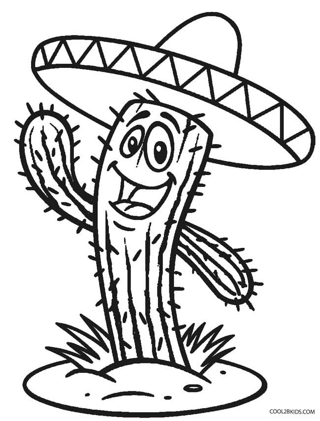 printable mexican food coloring pages - photo#29