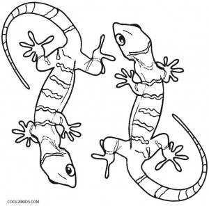 Printable Lizard Coloring Pages For Kids | Cool2bKids