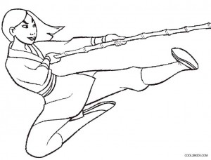 Mulan Coloring Pages to Print