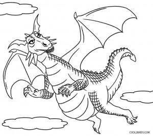 Shrek Dragon Coloring Pages