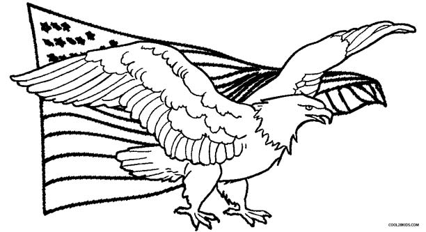 american eagle coloring pages - Coloring Page Eagle