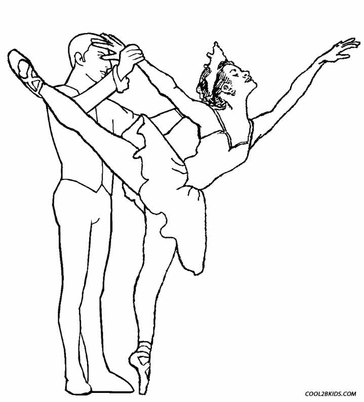 ballerina coloring pages printable free - photo#38