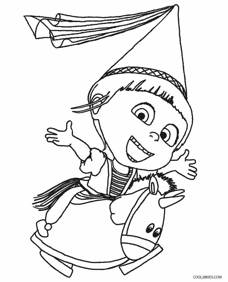 despicable me antonio coloring pages - photo#24