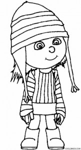 kids drawing pages coloring sheets | Printable Despicable Me Coloring Pages For Kids | Cool2bKids