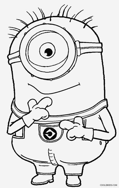 Printable Despicable Me Coloring