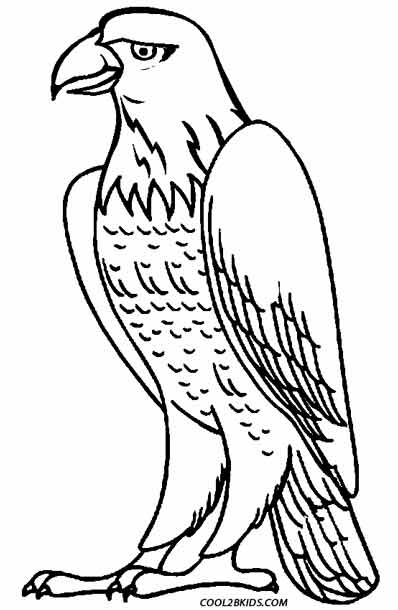 eagle coloring pages for kids - photo #17