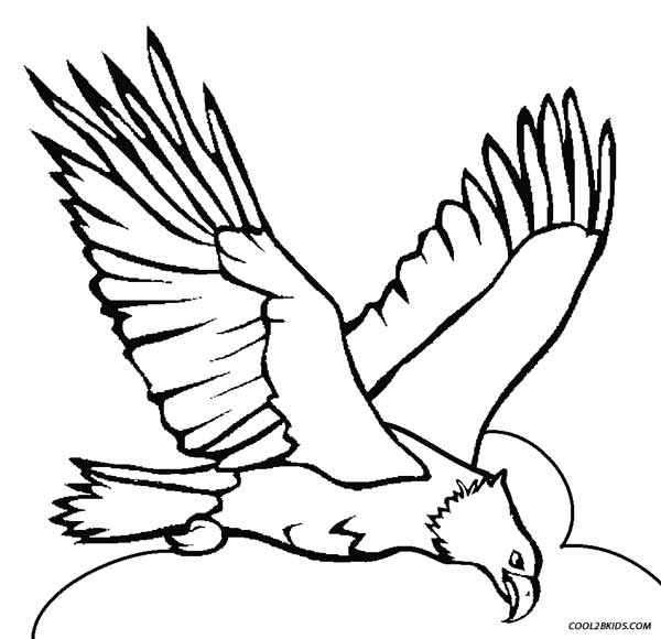 coloring pages of eagles - photo#29
