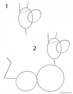 How to Draw Scooby Doo Step 1