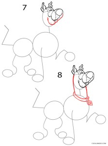 How to Draw Scooby Doo Step 4
