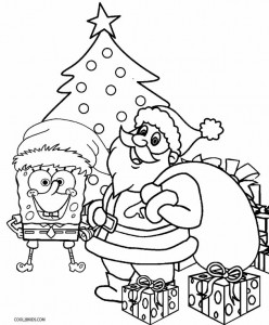 Toddler Christmas Coloring Pages