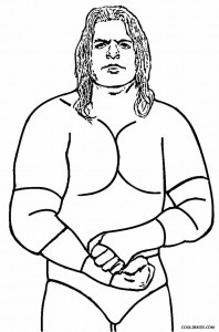 Wrestling Coloring Pages to Print
