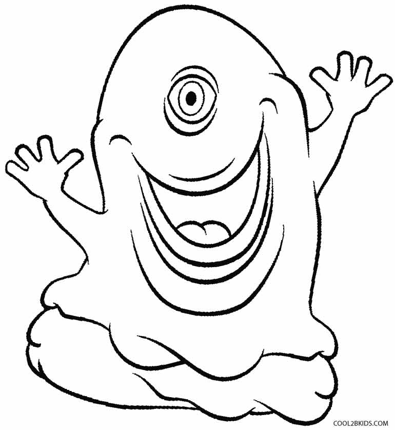 Printable Alien Coloring Pages For Kids Cool2bkids Aliens Coloring Pages