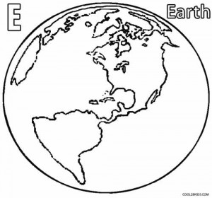 Earth Coloring Pages to Print
