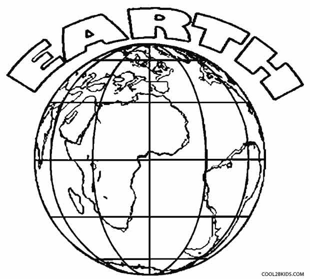 Printable Earth Coloring Pages For Kids | Cool2bKids