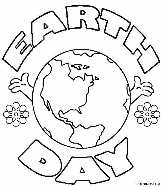 Gallery For Gt Coloring Page Earth Day Earth Day Coloring Pages