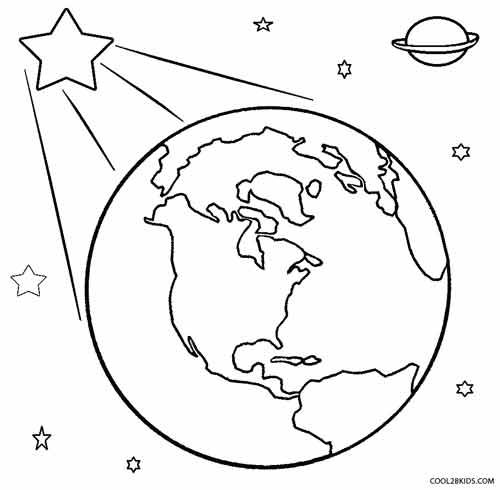image relating to Printable Picture of Earth called Printable Entire world Coloring Web pages For Little ones Awesome2bKids