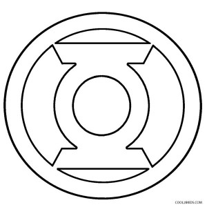 red lantern coloring pages green lantern logo - Lego Green Lantern Coloring Pages