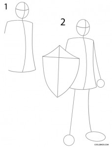 How to Draw Link Step 1