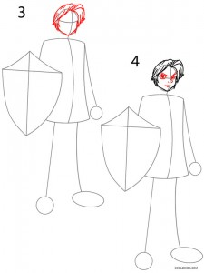 How to Draw Link Step 2