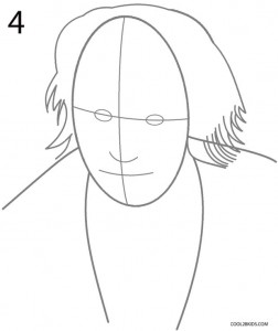 How to Draw the Joker Step 4