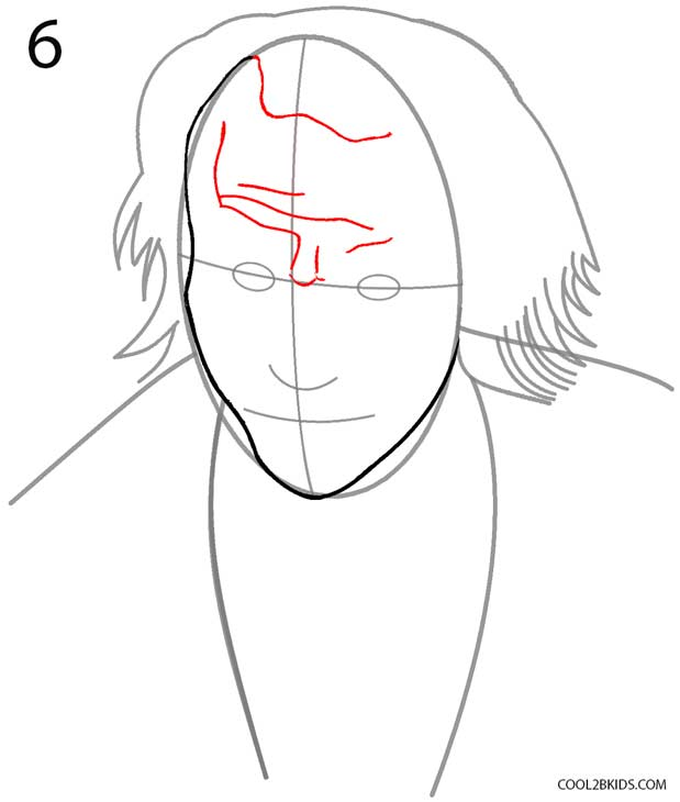 How To Draw Joker Picture