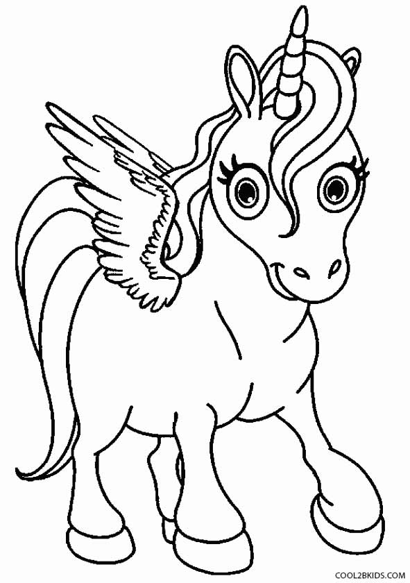 Printable Pegasus Coloring Pages For Kids