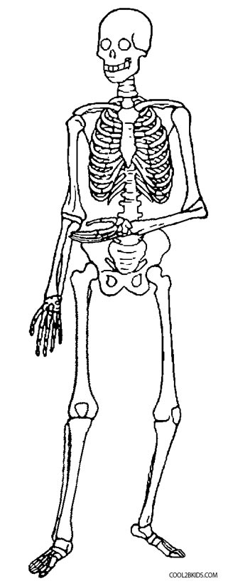 dancing dancing skeletons coloring pages