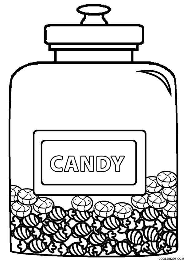 printable candy bar coloring pages - photo#6