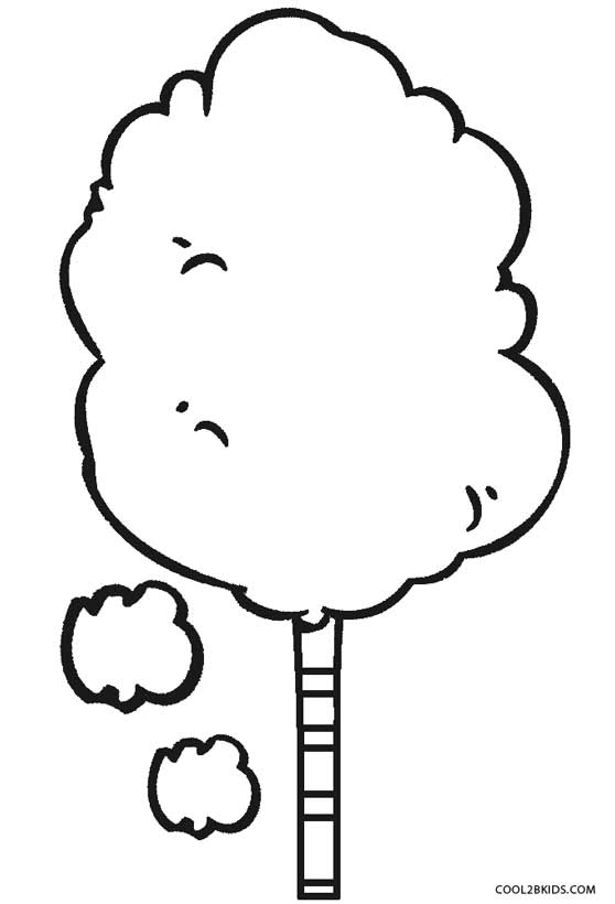 Cotton Candy Coloring Pages Coloring Coloring Pages Cotton Coloring Page