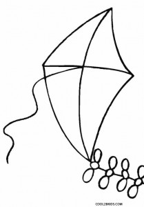 Kite Coloring Pages on Pinterest