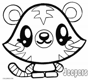 Moshi Monsters Coloring Pages Jeepers