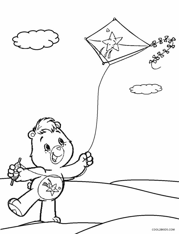 carebear cousin coloring pages - photo#31
