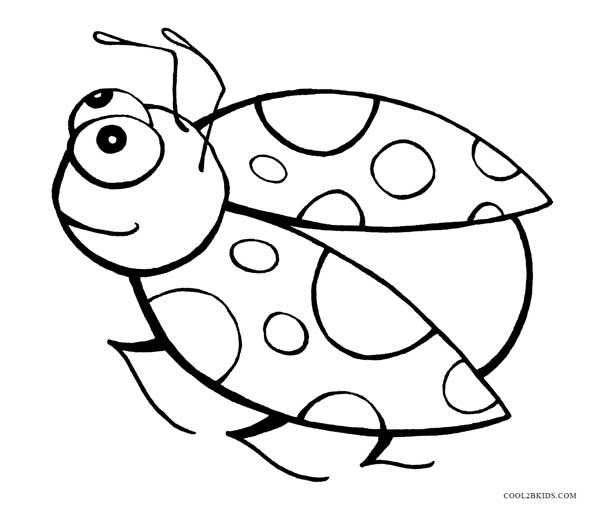 free bug coloring pages