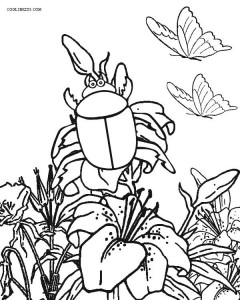 Printable Bug Coloring Pages For Kids Cool2bkids