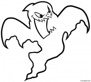 coloring pages on ghosts reading - photo#26