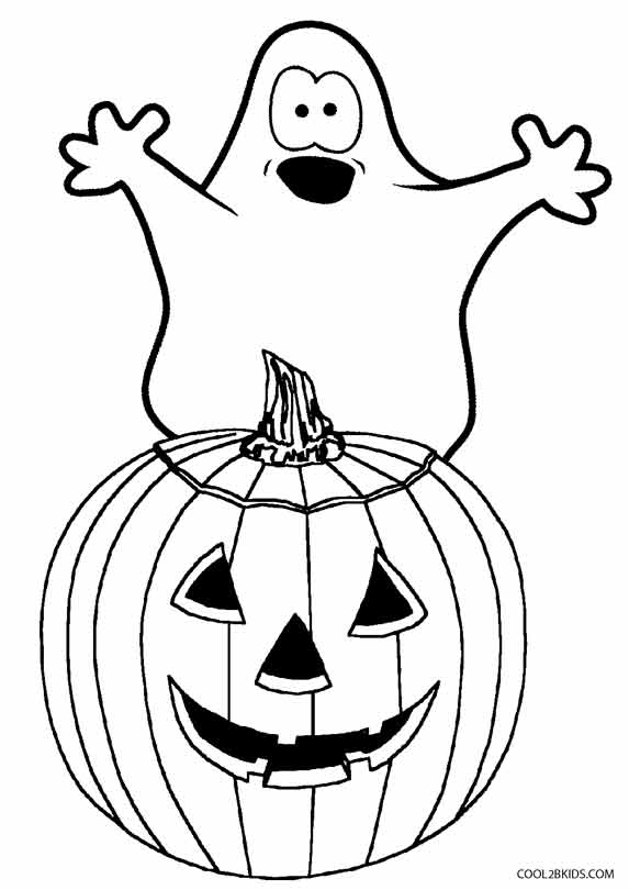 Cheap Halloween Ghost Coloring Pages With Halloween Ghost
