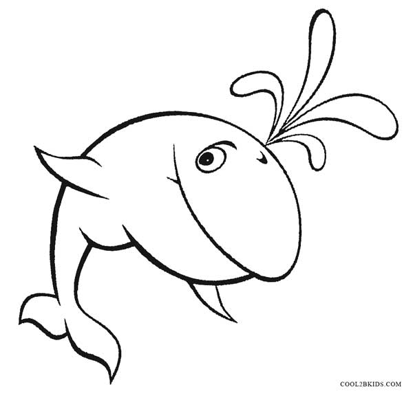 Whale Coloring Pages Magic Marine