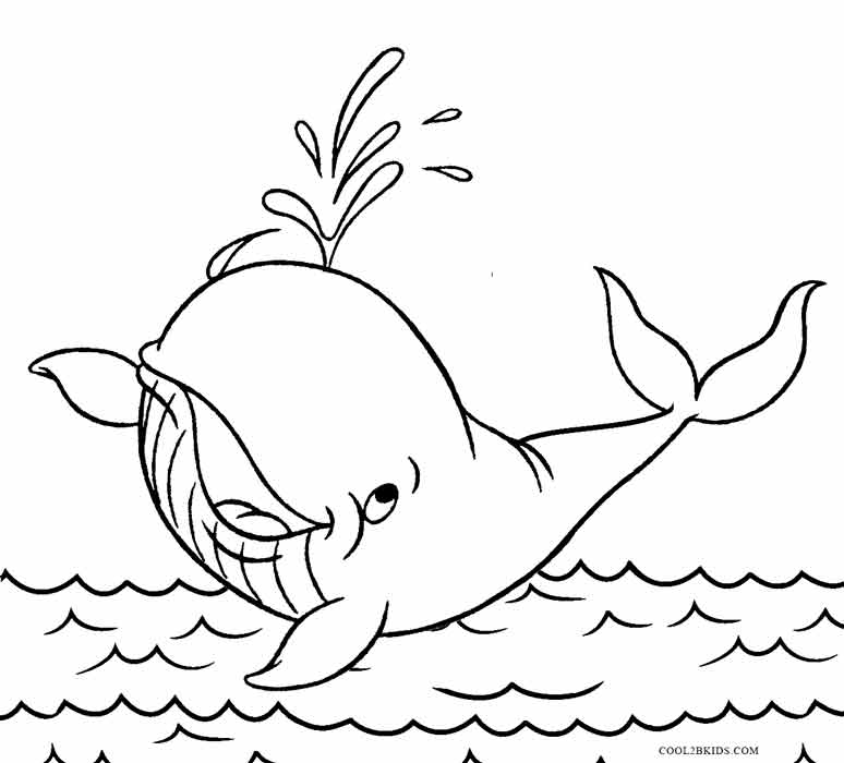 Printable Whale Coloring Pages For Kids Coolbkids